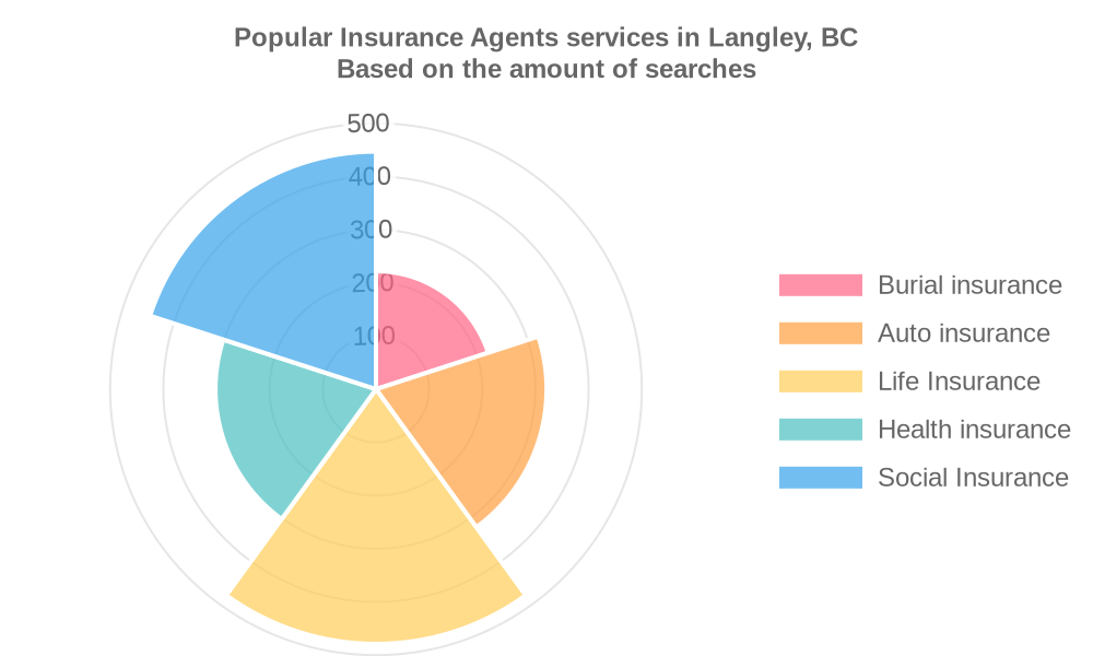 Popular services provided by insurance agents in Langley, BC
