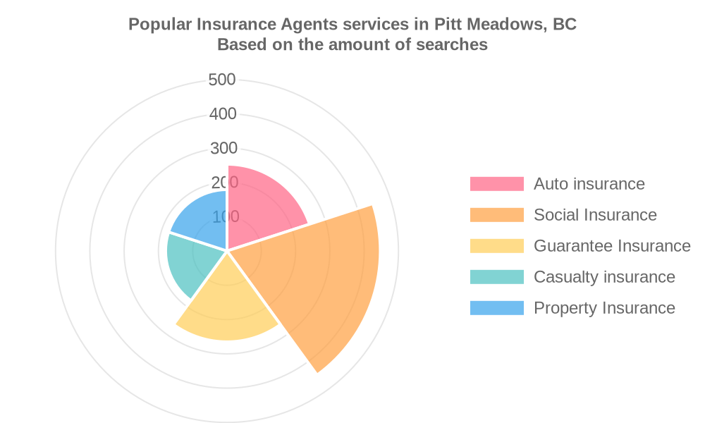 Popular services provided by insurance agents in Pitt Meadows, BC