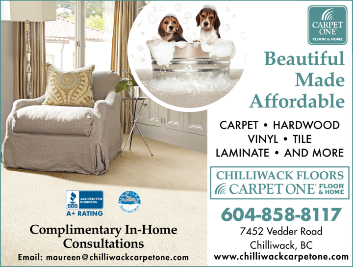 Print Ad of Chilliwack Floors Carpet One