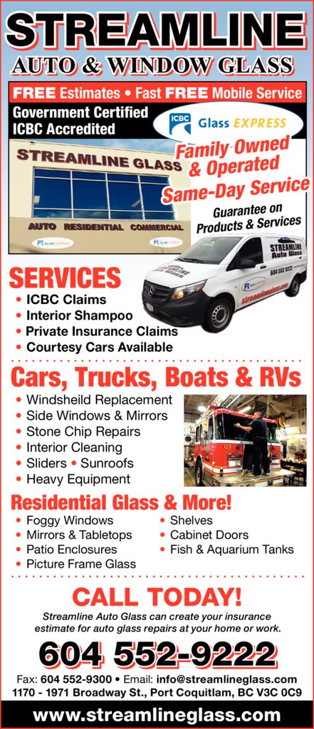 Print Ad of Streamline Auto Glass