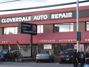 Cloverdale Auto Repair Center Ltd logo