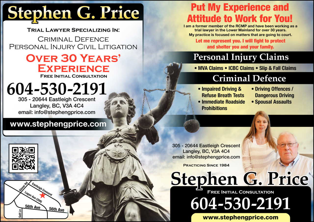 Yellow Pages Ad of Price Stephen G