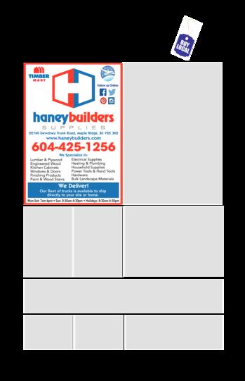Print Ad of Haney Builders Supplies (1971) Ltd