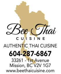 Yellow Pages Ad of Bee Thai Cuisine