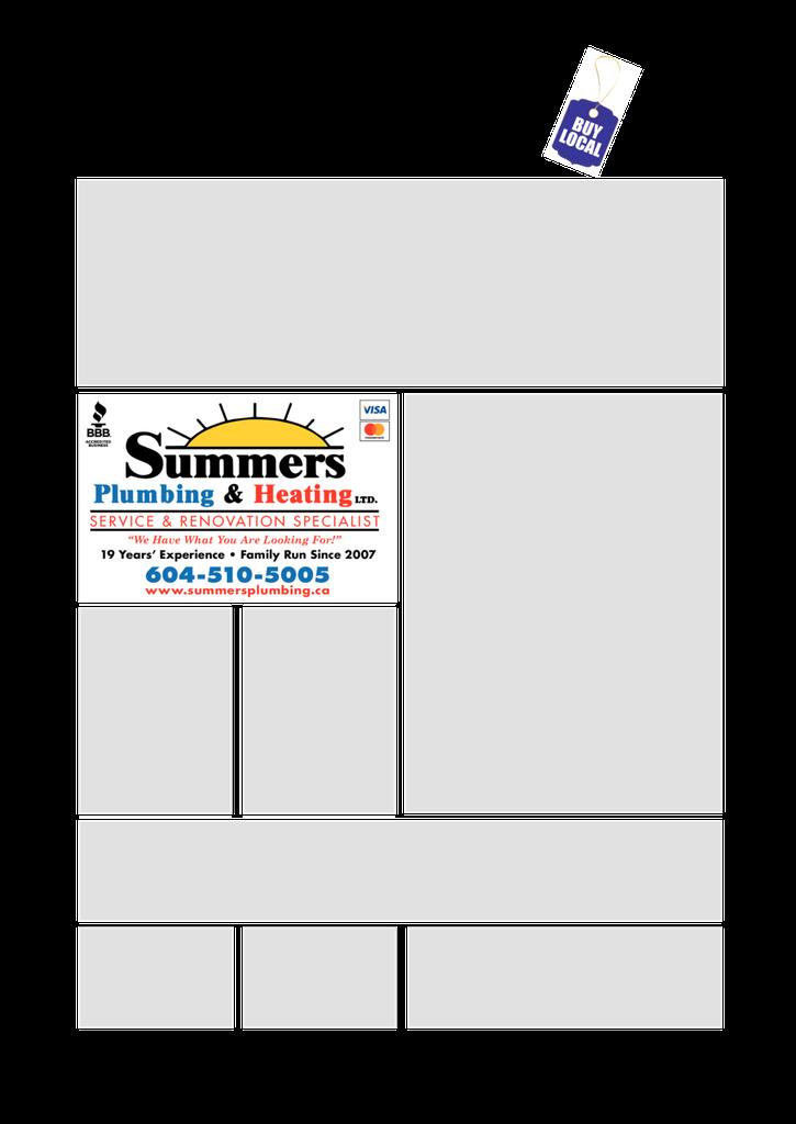Print Ad of Summers Plumbing & Heating Ltd