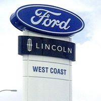 West Coast Ford Lincoln logo