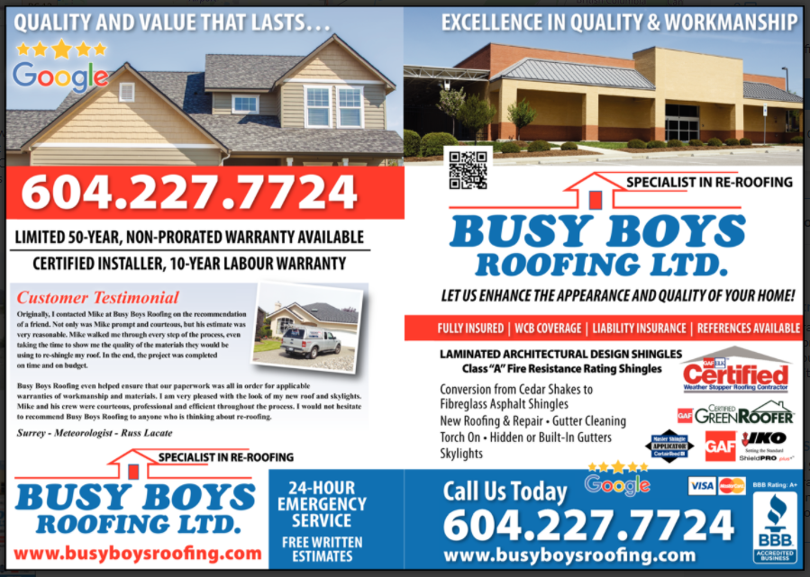 Photo uploaded by Busy Boys Roofing Ltd