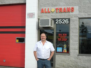 Andy's All Transmissions logo