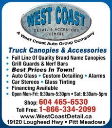 Print Ad of West Coast Detail & Accessory Centre