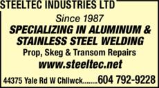 Print Ad of Steeltec Industries Ltd