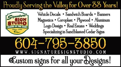 Print Ad of Signature Sign Studio
