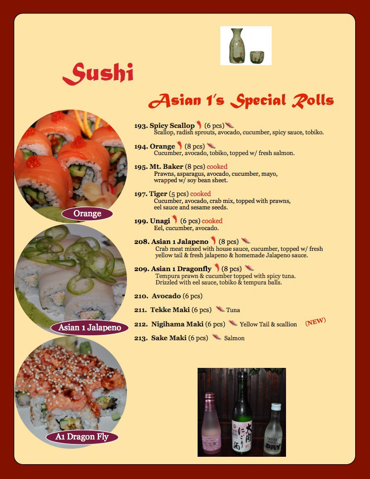 Photo uploaded by Asian 1 Restaurant