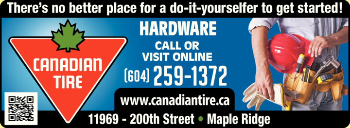 Print Ad of Canadian Tire
