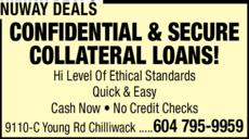 Print Ad of Nuway Deals