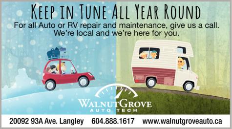 Print Ad of Walnut Grove Auto Tech