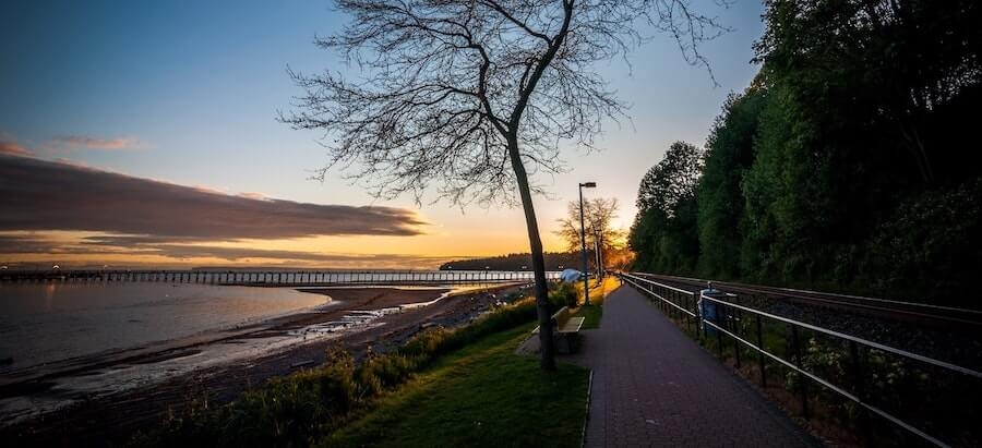 Road to White Rock, BC